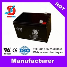 12 volt deep cycle battery 12v 12ah acid lead battery used for wheelchair China supplier