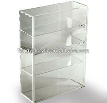 Acrylic Display box with sliding door for Miniature Perfume bottles