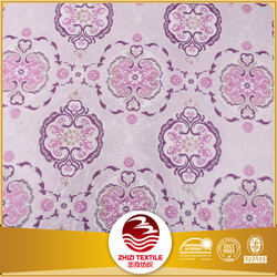 Export to European pink color new design 100 polyester sofa fabric