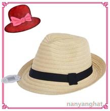 New Design Man Cheap homburg beach sun panama fedora Straw Hat