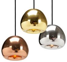 tom dixon void glass light mini copper