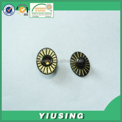 solid colored decorative metal studs for shoes for clothing