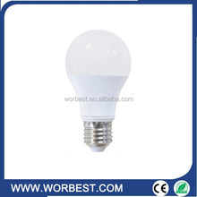 import and export low price PC bulb high power 5W E27 filament LED light bulb