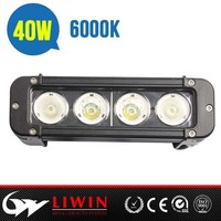 New arrival off road liwin police emergency led light bar L6-40w for auto Atv SUV