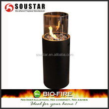 Leisure wood burning cast iron outdoor fireplace