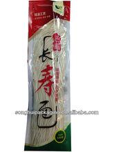 birthday noodle bag/T-sealed bag /plastic packaging
