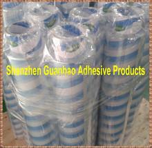 970mmx400/500m self adhesive transparent clear lamination film bopp film high sticky(OPAT)