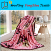 cheap and soft luxuary printed polar fleece blanket thick throw blanket
