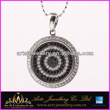 2015 antique 925 silver charms Made With AAA CZ
