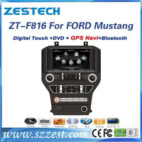 ZESTECH Manufacturer auto dvd for Ford Mustang GPS Navigation System with top quality car radio for Ford Mustang