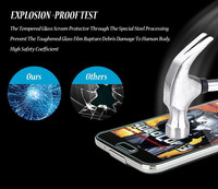 9H 2.5D HD Clear Tempered Glass Screen Protector For Samsung Galaxy S3/4/5 Note 2 3 4