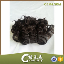 Most popular wholesale high quality grade 7a curly brazilian short hair weave