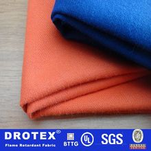 260 gsm oil proof and water repellent flame resistant fabric for protective clothing