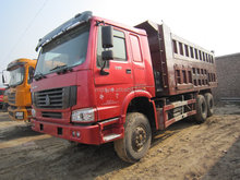 Used condition HOWO 95E 12y dump truck with high quality cheap price