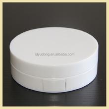 GS0105 Plastic round empty compact powder BB air cushion CC case with mirror
