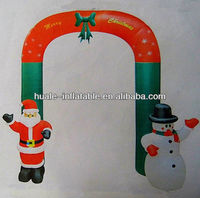 inflatable arch ,inflatable santa claus for Christmas decoration