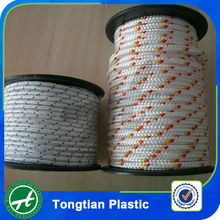 Color pp pe braided nylon rope
