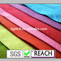 Popular non woven polyester needle soft type felt