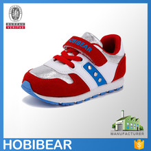 HOBIBEAR hot sale fashion toddler girls leather sneakers