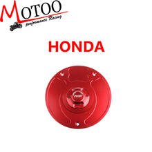 Motoo - Motorcycle New CNC Aluminum Fuel Gas CAPS Tank Cap tanks Cover With Rapid Locking For HONDA CBR 1000 600 HORNET