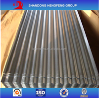 Hot Sale Zinc Coated Corrugated Metal Roofing Sheet