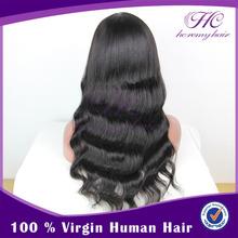 Wholesale price excellent carnival wigs U part virgin Brazilian jet wigs