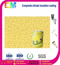 Metallic texture, high hardness thermal conductive paint
