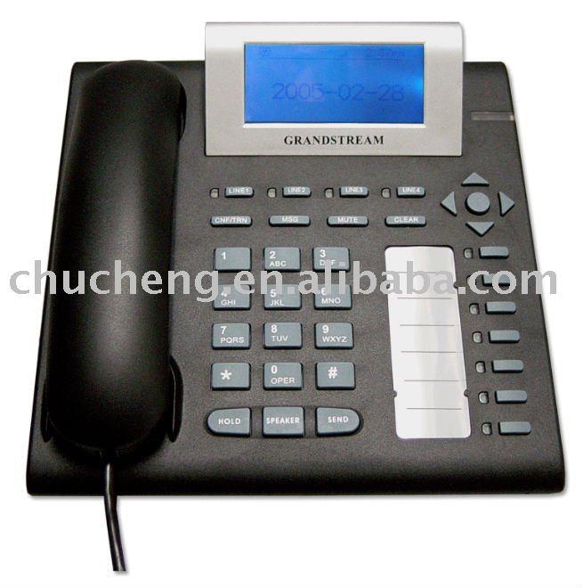 Grandstream VOIP SIP teléfono con POE GXP2000