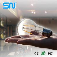 Best quality A60 A19 360 degree 4w e27 filament bulb led