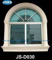 hand carved stone window decoraitve frame