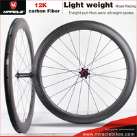 Perfect carbon road bike wheels clincher carbon fiber carbon bicycle china bike road lightweight wheels