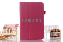 Slim PU Leather Flip Case Stand Cover Tablet PC Protective Skin for Lenovo A3000 A3300 A3500 A5500 S6000