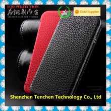 Aliexpress Wholesale Cowhide Genuine Leather flip cover mobile phone case for iphone 6