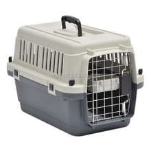 IATA approved plastic pet carrier dog kennel plastic cages