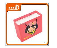 wholesale cute pink girl kids shopping bag
