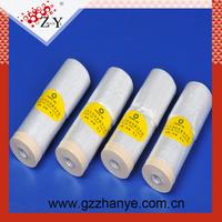 Premium grade auto paint plastic masking film