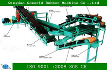 waste tire recycling plant machine / rubber powder production machine