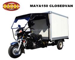 MAYA150 CLOSEDVAN EEC 3 wheel gas scooter with closed van ,250cc trike chopper 3 wheel motorcycle cheap,chopper trike for sale