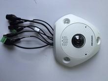 6MP Fisheye Camera Hikvision Camera English DS-2CD6362F-I (V)(S),HD Network IP Camera w/IR 360 Degree View Angle