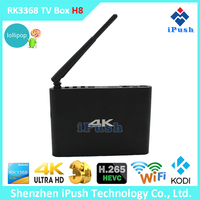 RK3368 2G/8G XBMC Dual band wifi Full HD Android 5.1 Media Player 4K TV Box