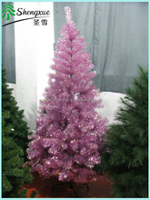 Top quality xmas tree decorations purple artifical christmas tree