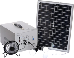 ce approved power generator 30w solar system project