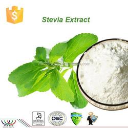 95% Steviosides HACCP KOSHER FDA stevia extract / stevia leaf extract , Natural sweetener