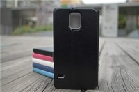 Luxury Leather Flip Wallet Cover Case For Samsung GALAXY S5 i9600