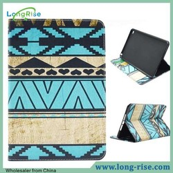 Stylish Tribal Design Book Style Leather Case for iPad Mini 4 with Card Holder