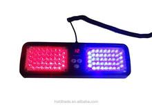 China high power visor 86 Led Strobe Visor Amber light