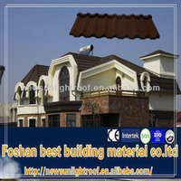 rv building materials metal roof tiles /curved roofing sheet/stonecoated metal roof tiles