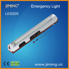 1x20W Tube Rechargeable Emergency Lamp-LE6205:power failure,energy saving,AC/DC,more brighter,longer lifetime,portable,w/stand