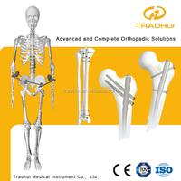 Intramedullary Interlocking Nail Orthopedic Medical Implant for femur tibia humeral fracture