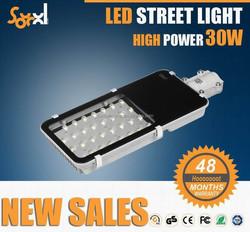 new generation 30W modular LED streetlight with 5 years warranty